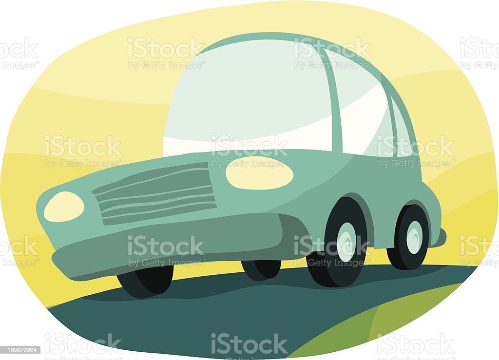 The Cutemobile royalty-free stock vector art