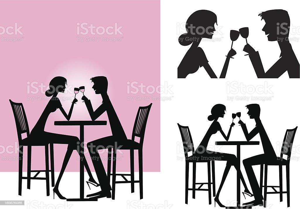 The Date royalty-free stock vector art