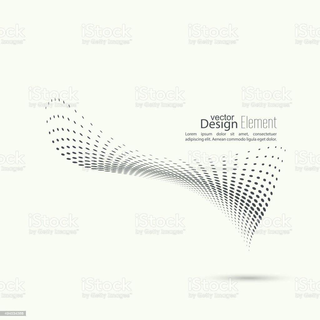 The dynamic object vector art illustration