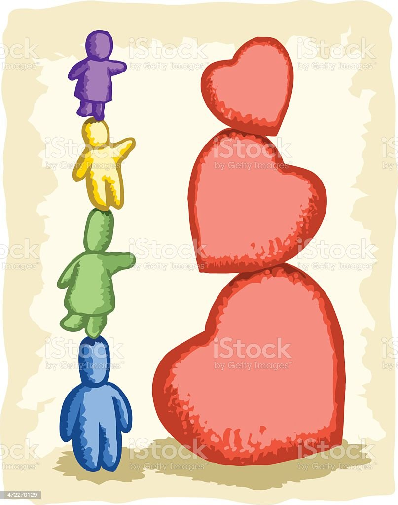 The Family Stone - New Heights royalty-free stock vector art