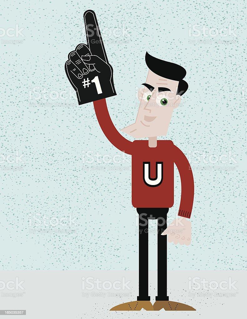 The Fan vector art illustration