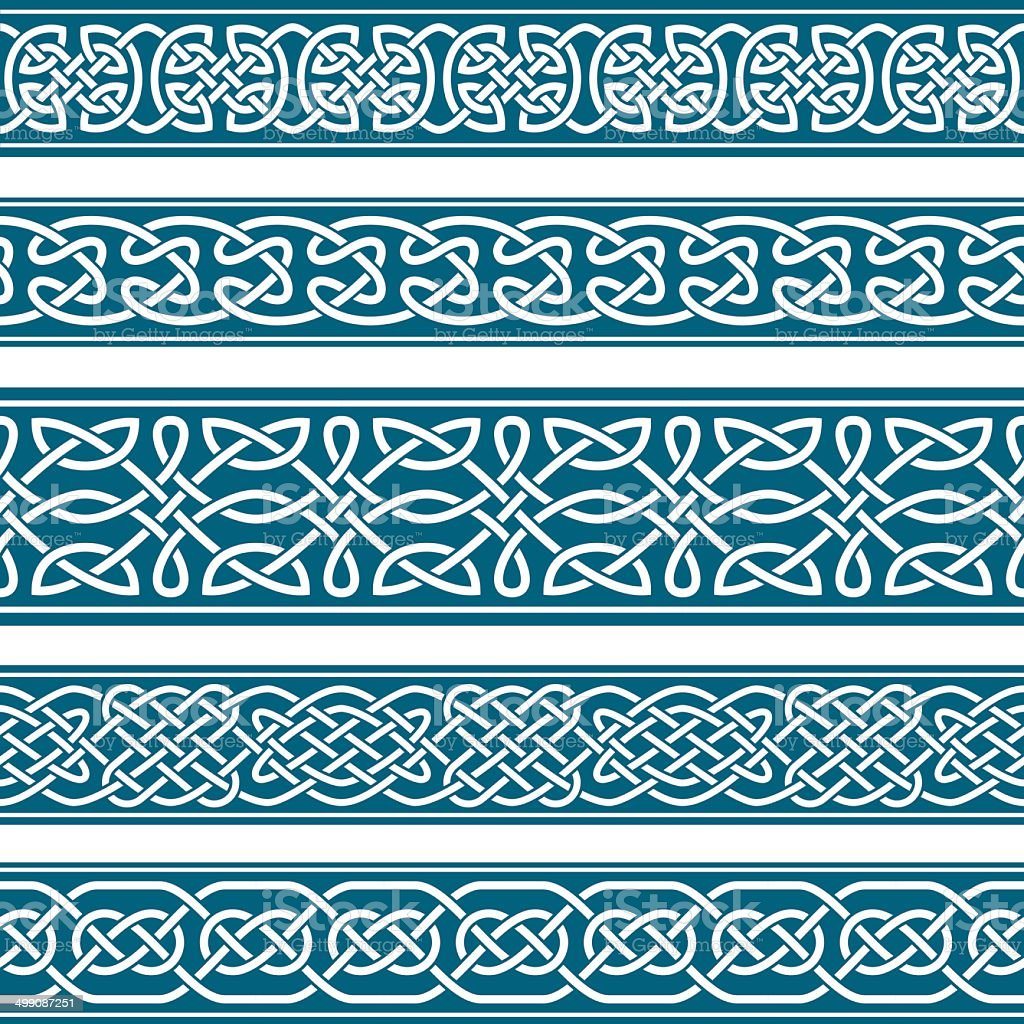 The Frames of medieval style vector art illustration