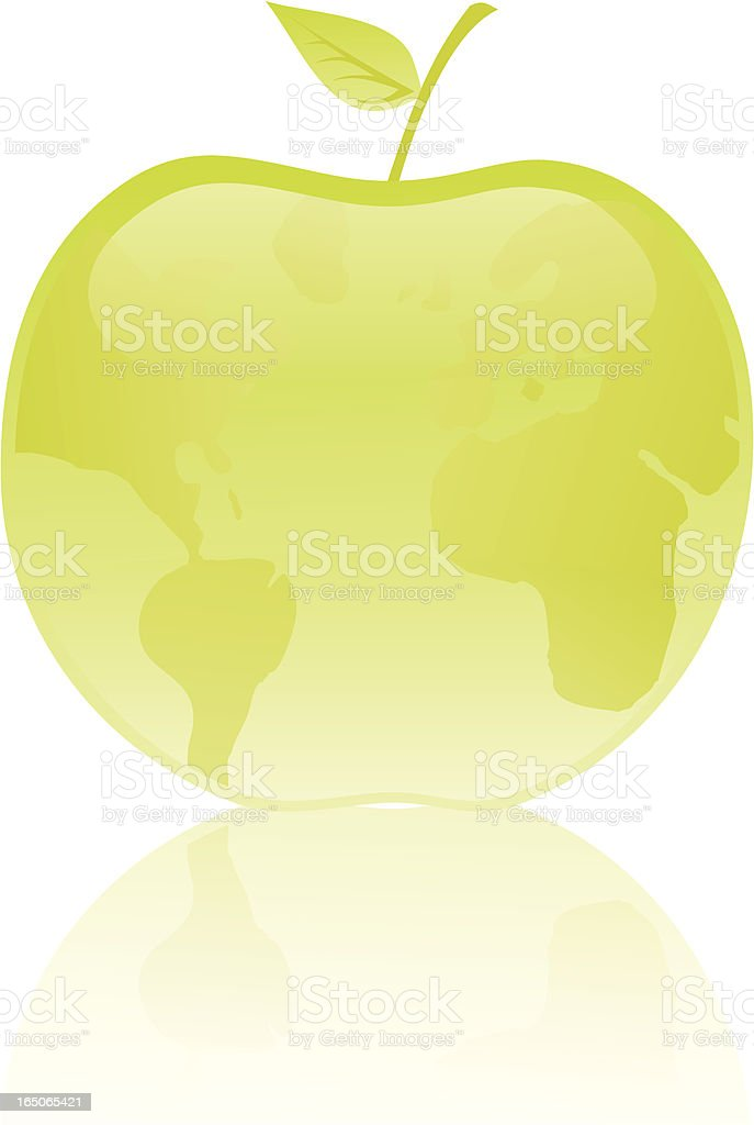 The fruit. royalty-free stock vector art