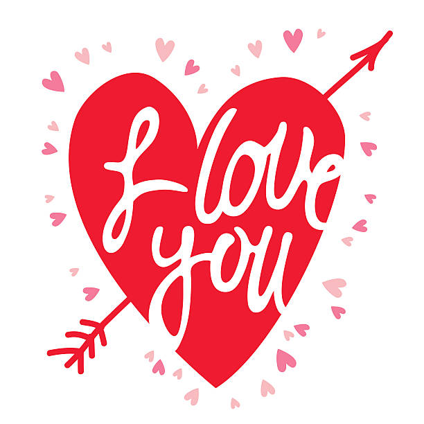 Download I Love You Clip Art, Vector Images & Illustrations - iStock