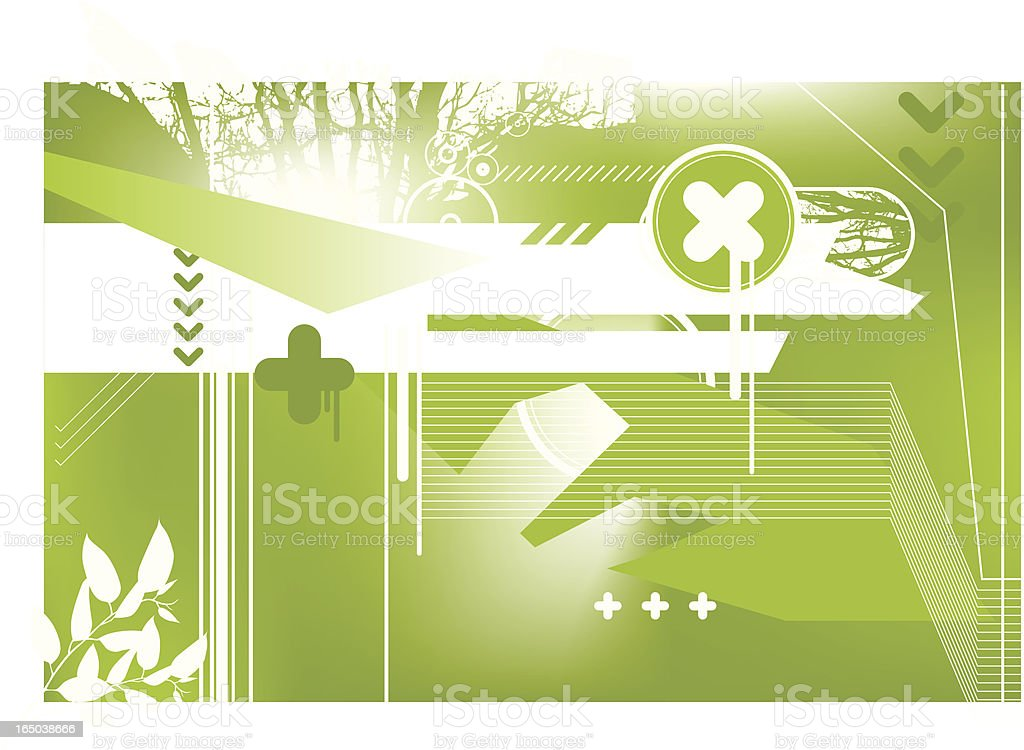 the nature of science royalty-free stock vector art