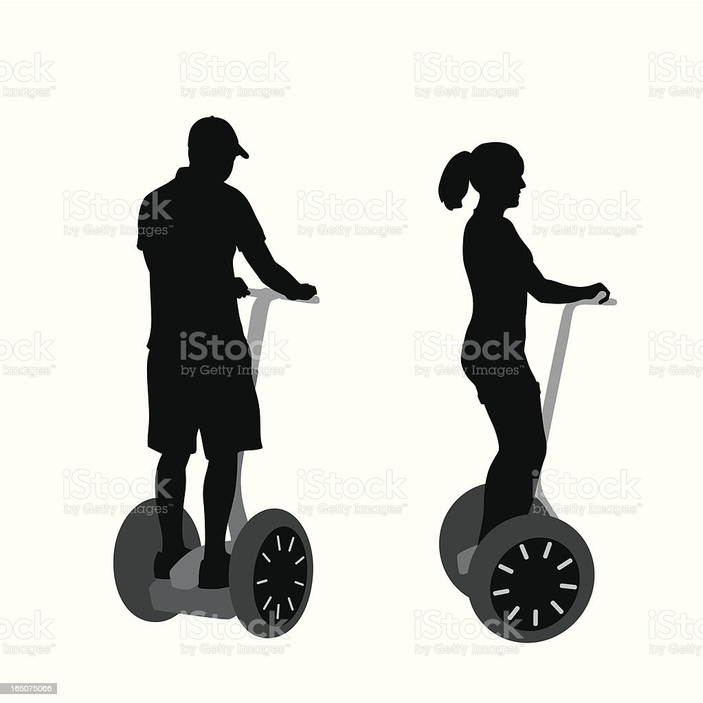 The New You Vector Silhouette vector art illustration