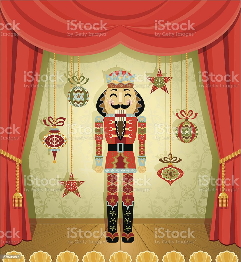 The Nutcracker vector art illustration