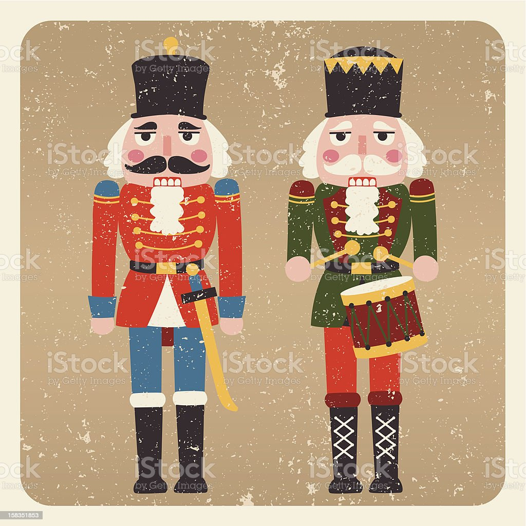 The Nutcrackers vector art illustration