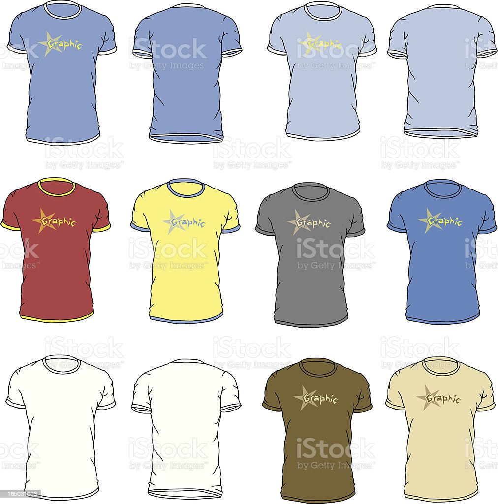 The Perfect T-Shirt royalty-free stock vector art