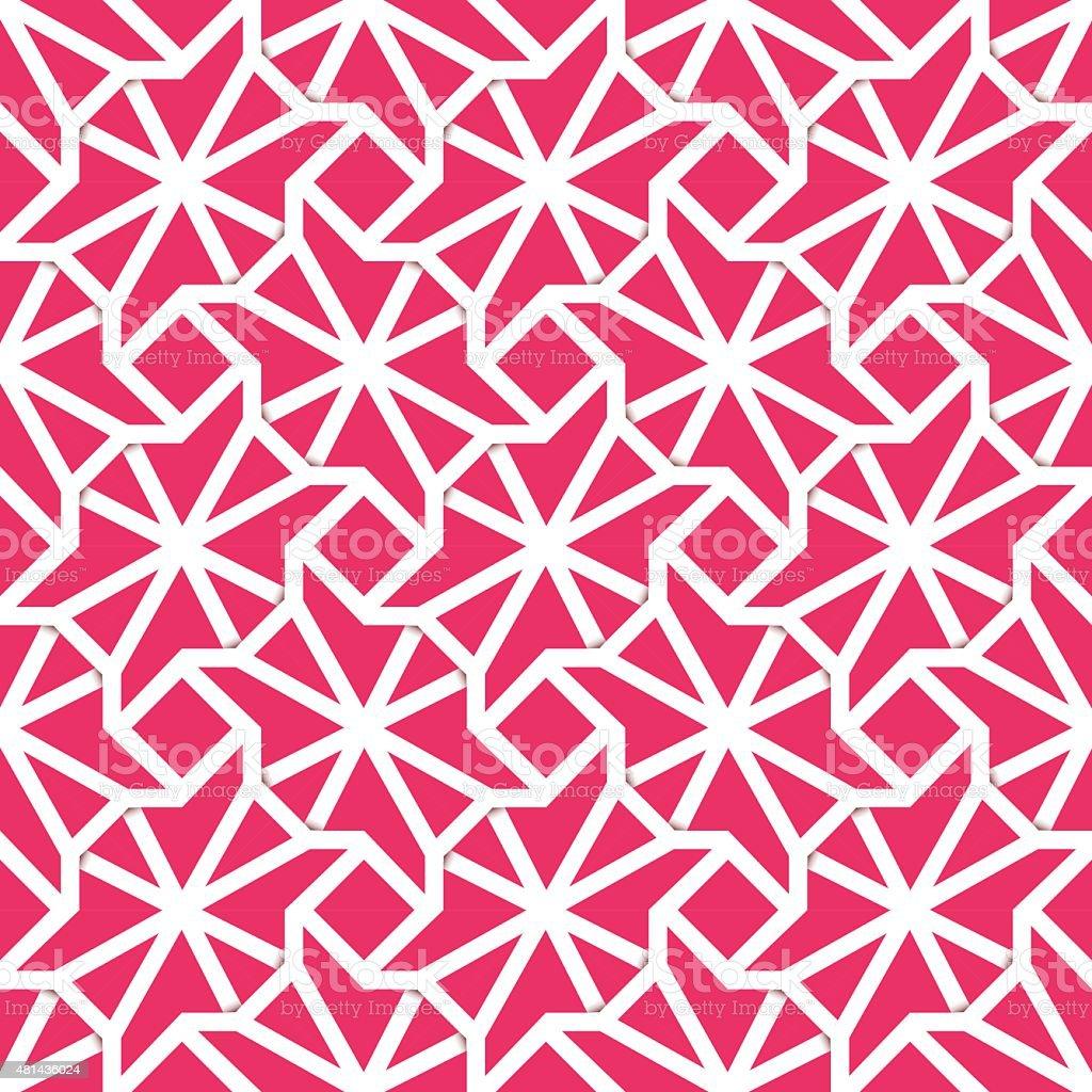 The plexus seamless pattern vector art illustration