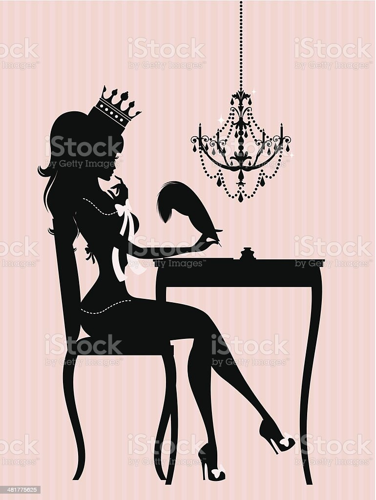 The Princess Diaries royalty-free stock vector art