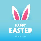 The rabbit ears. Happy easter