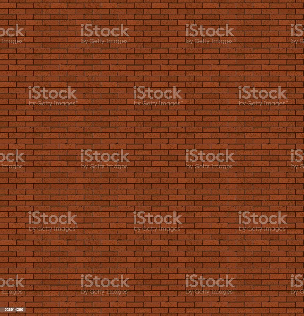 The red brick. Old masonry. Bright background. vector art illustration