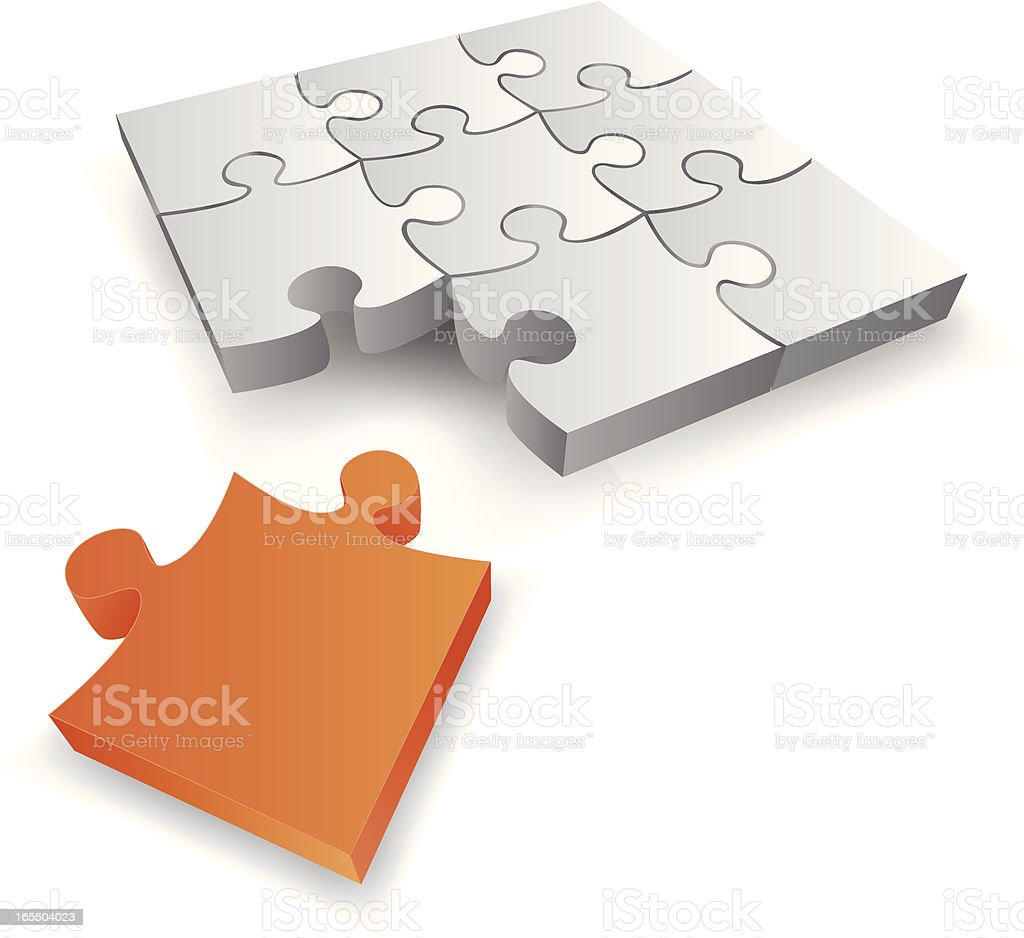 The solution royalty-free stock vector art