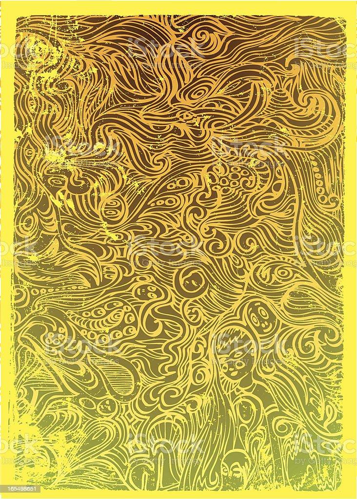 Die dezente Oase Lizenzfreies vektor illustration