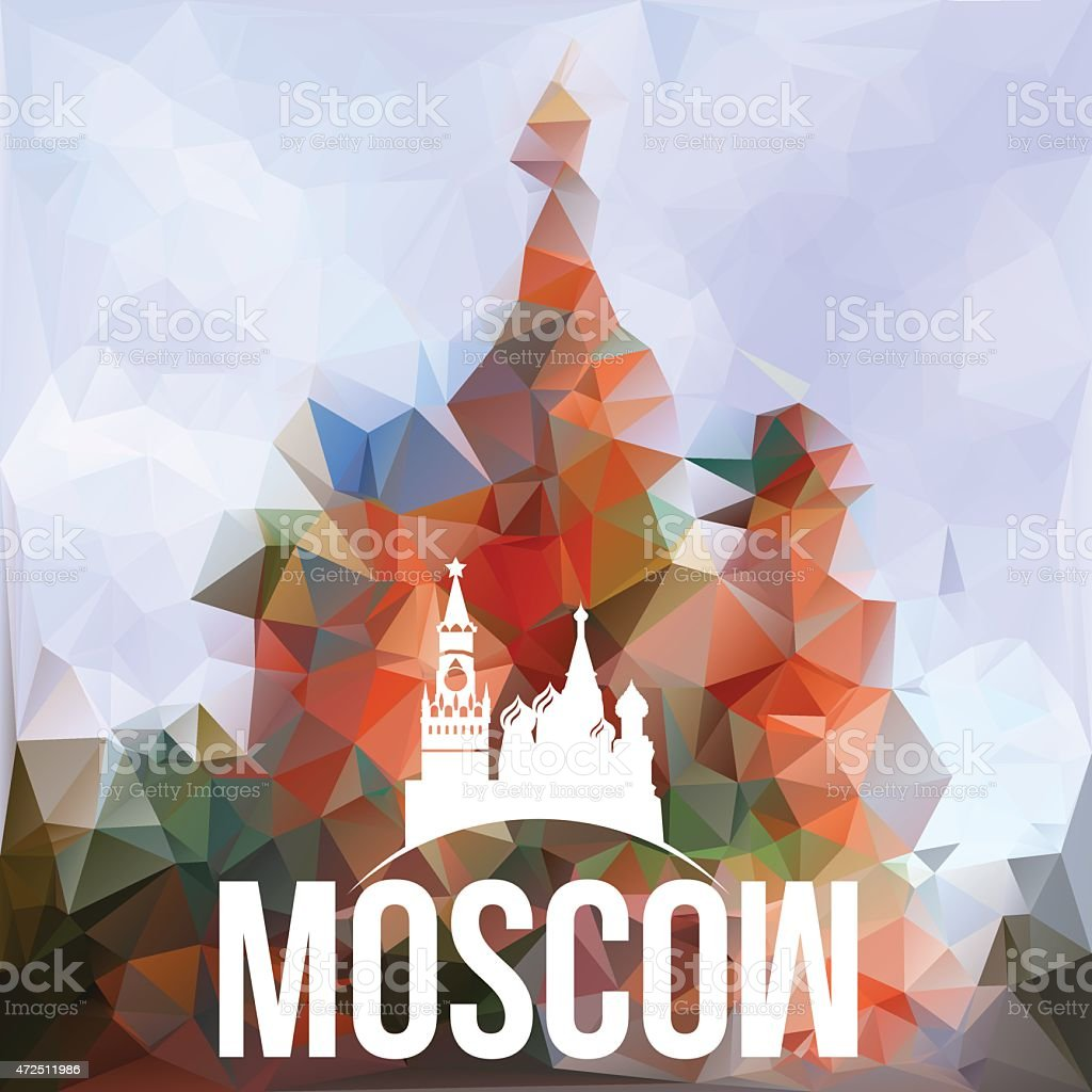 The symbol of Russia vector art illustration