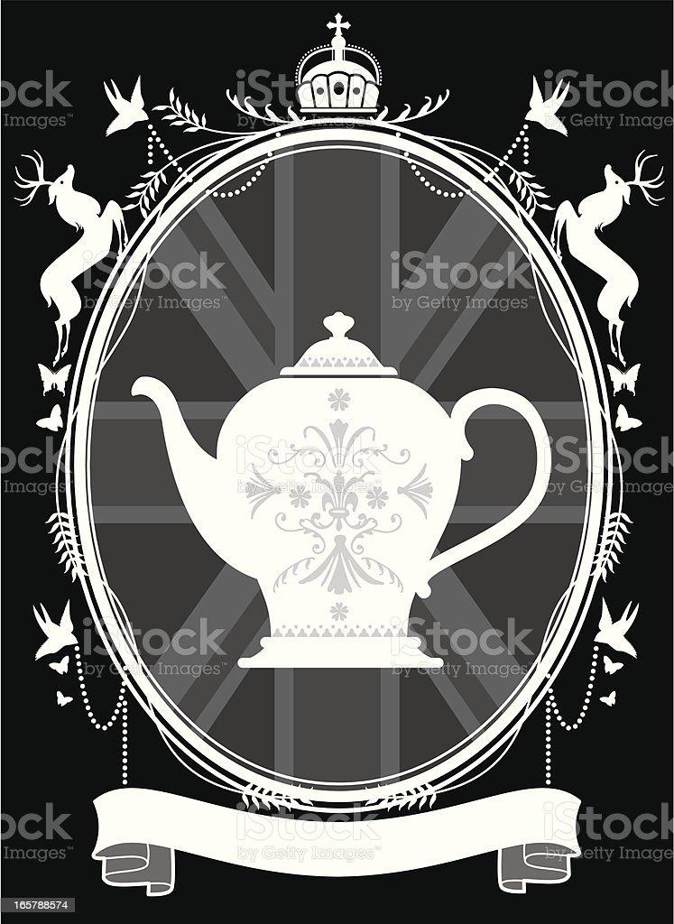 The Teapot royalty-free stock vector art