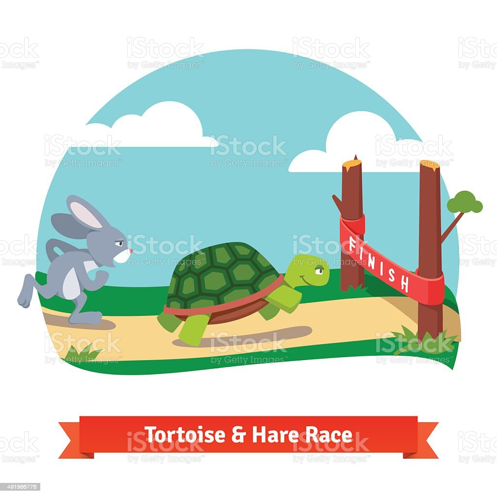 the rabbit and the turtle running race Rabbit and turtle's re-run is the second segment of the fifty-seventh episode of my friends tigger& pooh rabbit and turtle call the super sleuths, hoping that they can help them resolve a.