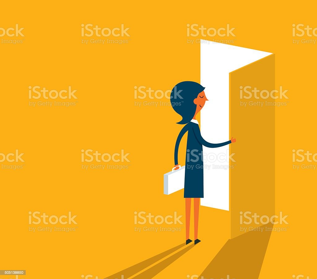 The Way Forward vector art illustration