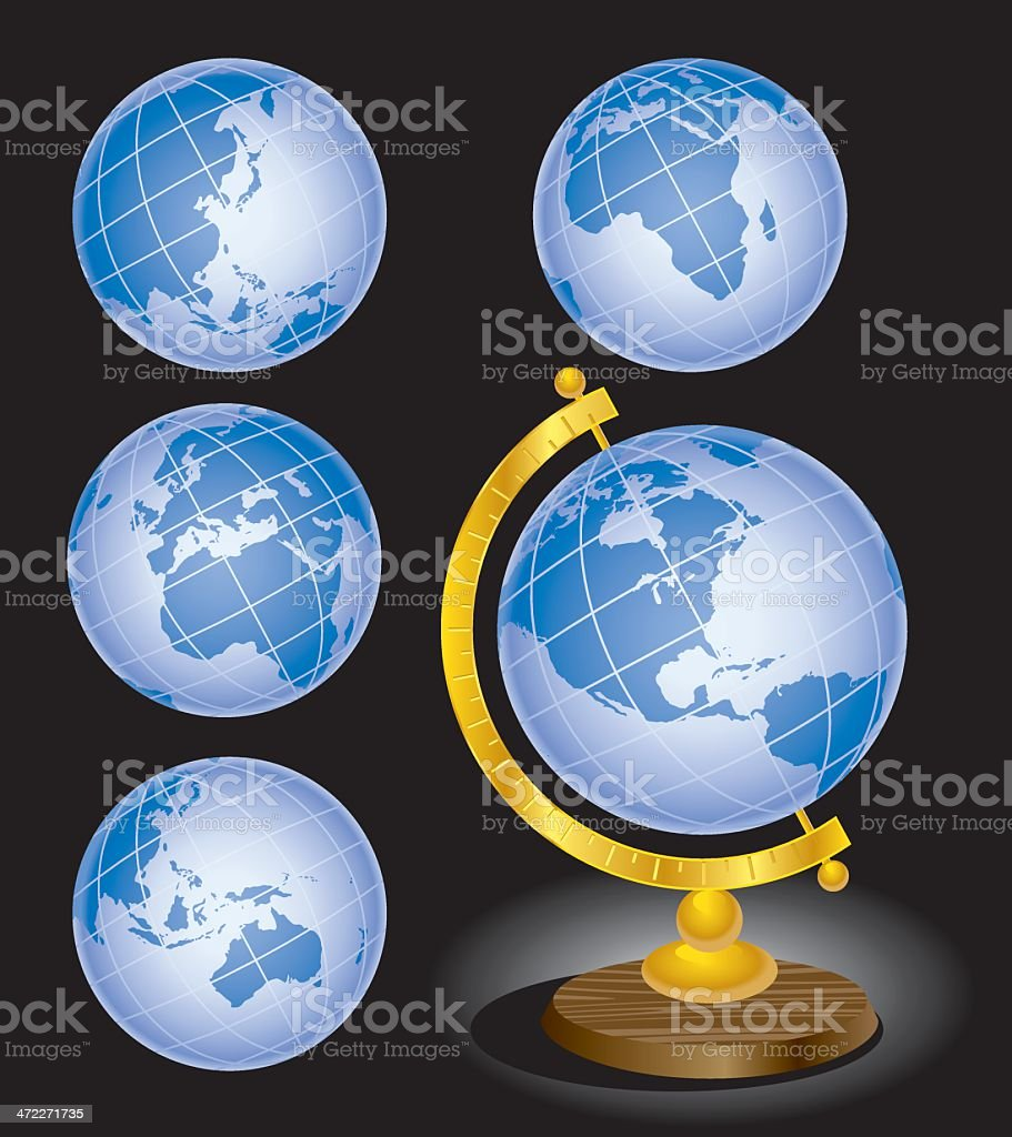 The World as We Know It royalty-free stock vector art