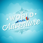 The World is full of Adventure inspiration quote