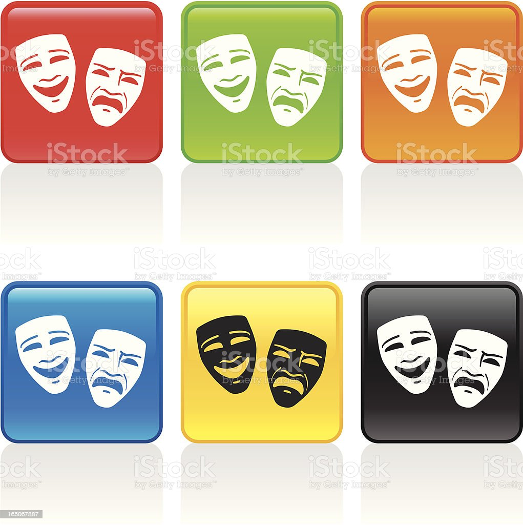 Theater Icon royalty-free stock vector art
