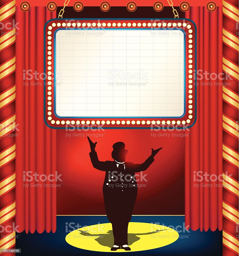 Big event red curtains with spotlight stock photo getty images - Auditorium Circus Curtain Entertainment Event Event
