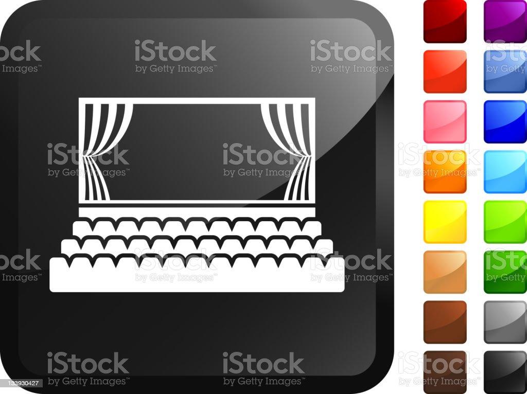 theater stage internet royalty free vector art vector art illustration