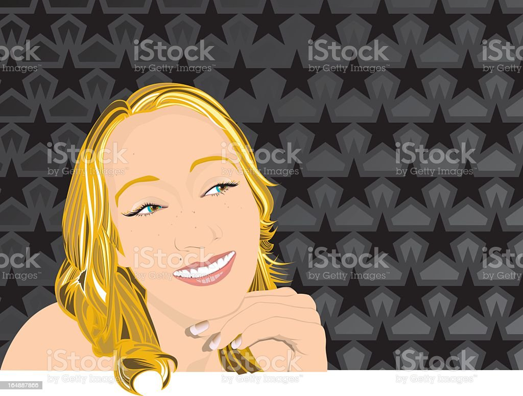 theface13 royalty-free stock vector art