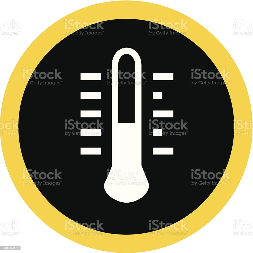 Thermometer royalty-free stock vector art