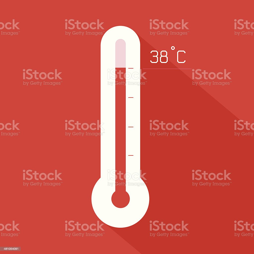Thermometer Vector illustration vector art illustration