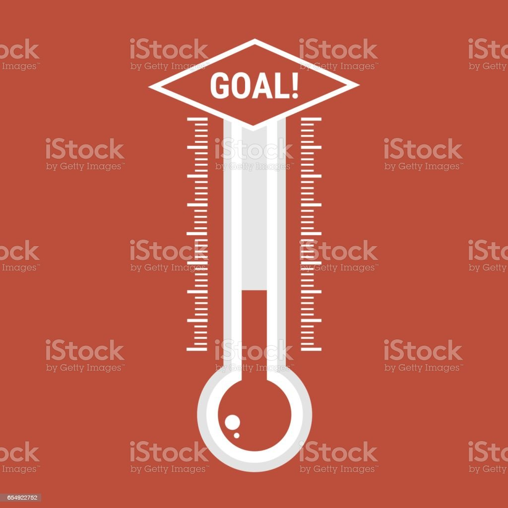 thermometers icon vector flat design. vector art illustration