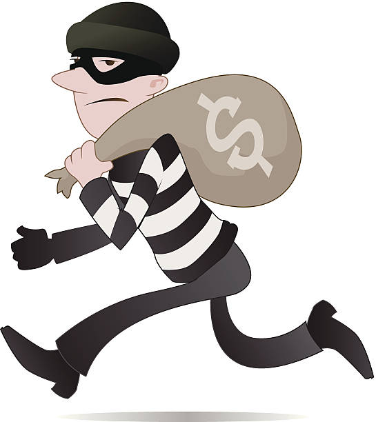 Theft Clip Art, Vector Images & Illustrations - iStock