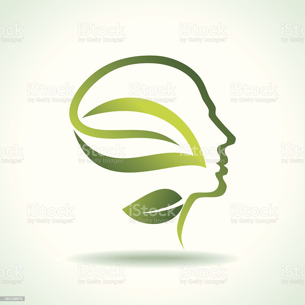 think green save earth royalty-free stock vector art