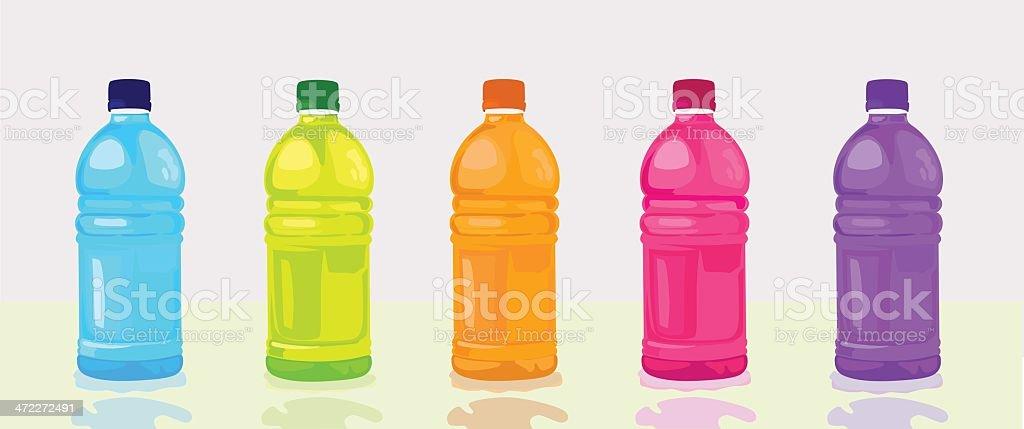 thirst quencher vector art illustration