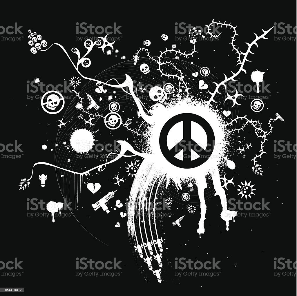 This Means War! 革命的 royalty-free stock vector art