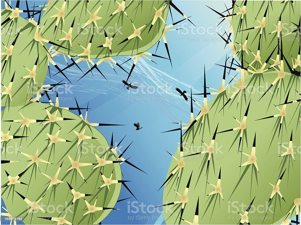 thorn birds royalty-free stock vector art