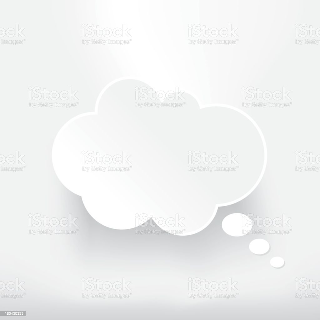 Thought Bubble royalty-free stock vector art
