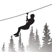 Thrilling Zip Line Adventure