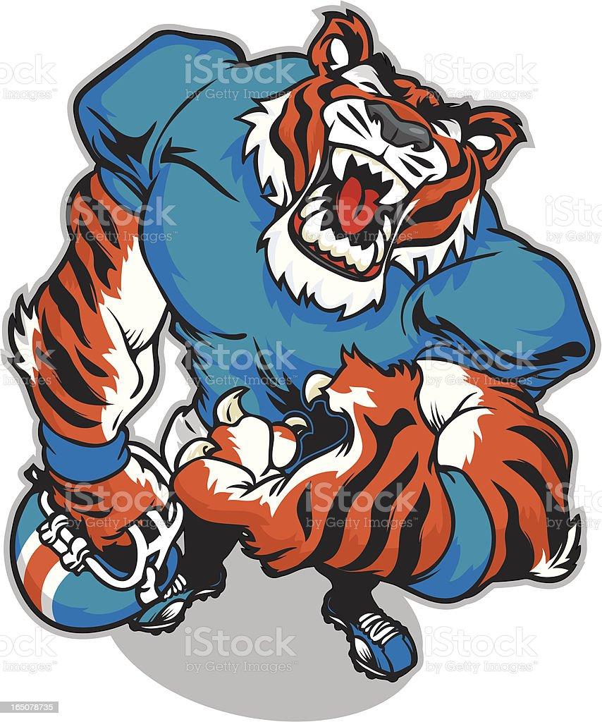 Tiger Ball royalty-free stock vector art