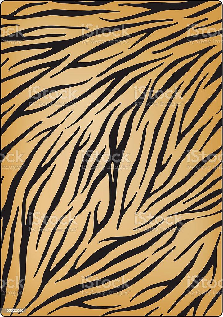 Tigra royalty-free stock vector art