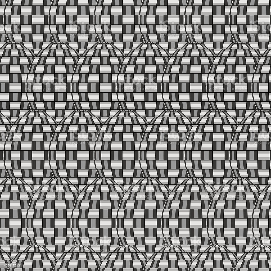 Tile Interlace Pattern royalty-free stock vector art