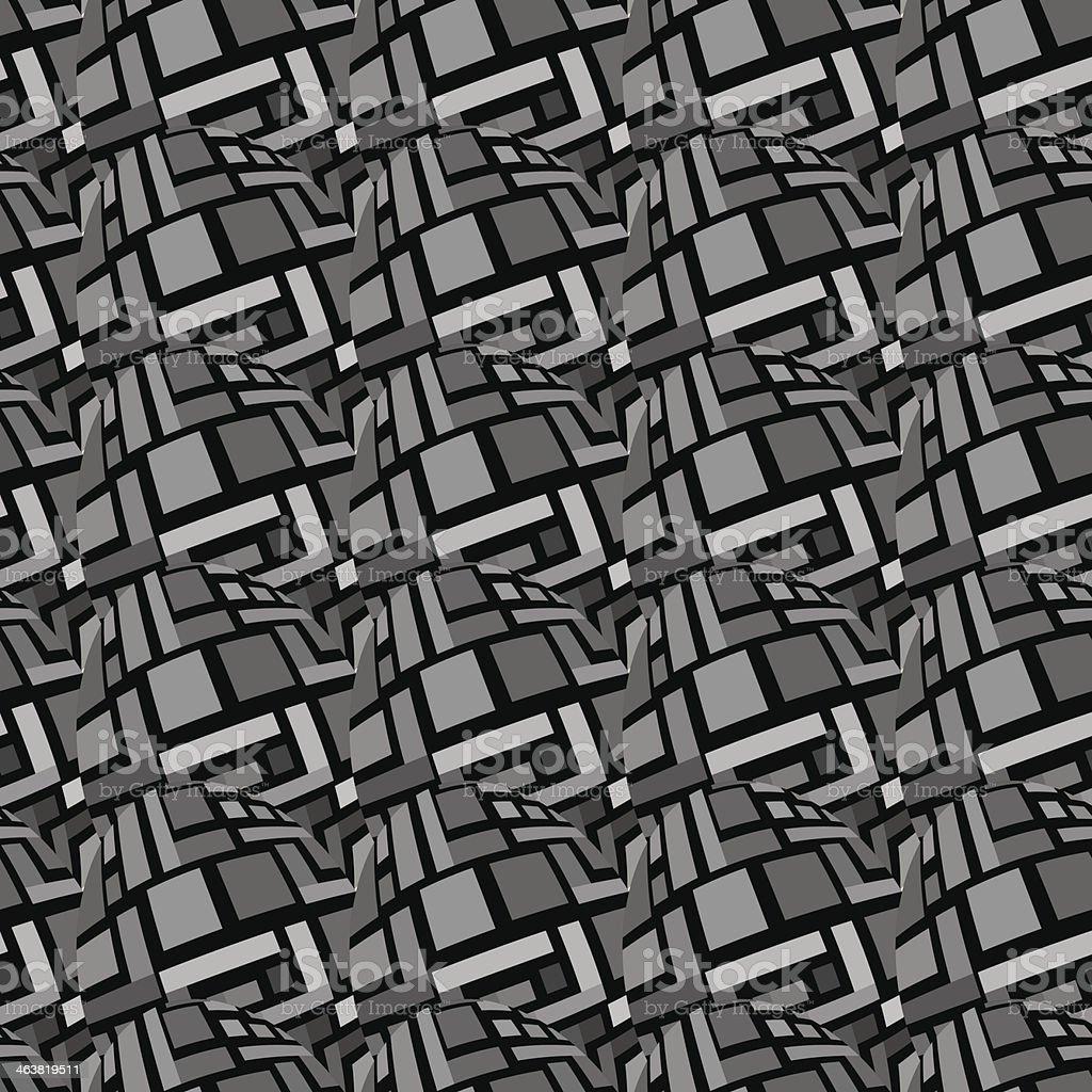Tile Rectangle Pattern royalty-free stock vector art