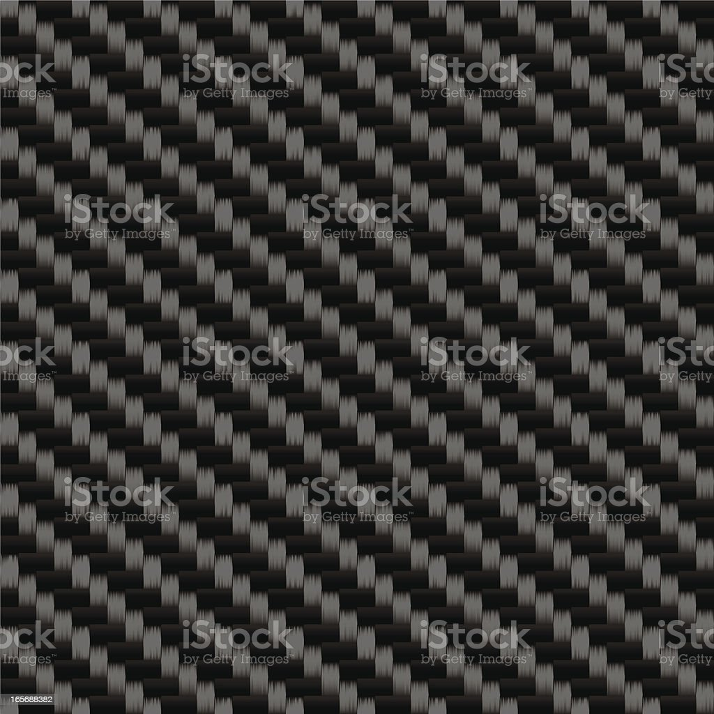 Tileable Carbon Fiber Weave Sheet Pattern vector art illustration
