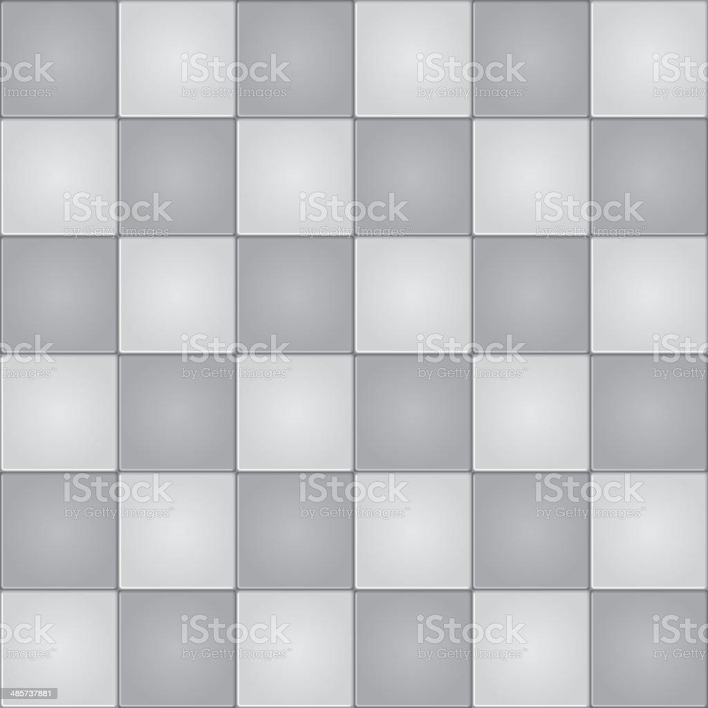 Tiles background, seamless pattern vector art illustration