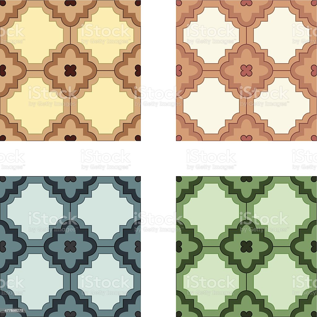 Tiles pattern royalty-free stock vector art