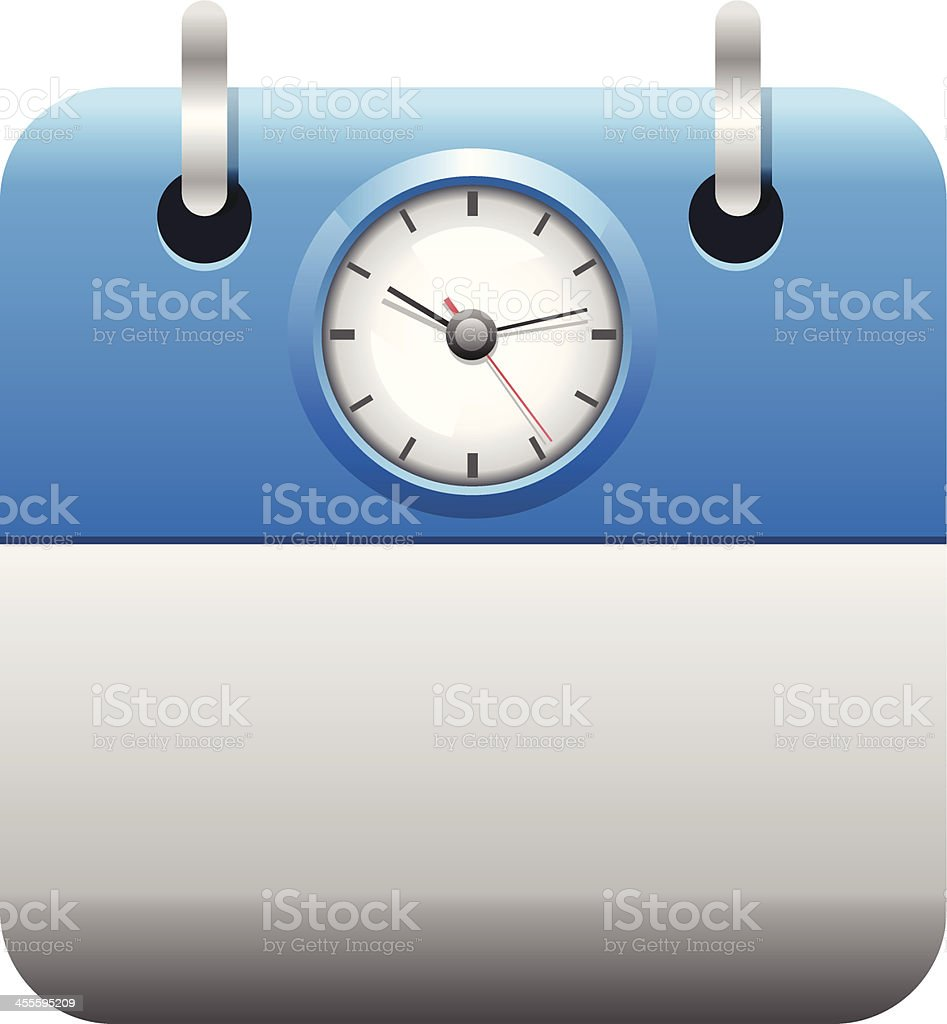 Time and Date royalty-free stock vector art