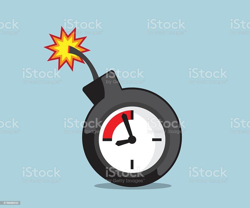 time bome deadline vector のイラスト素材 576898500 istock