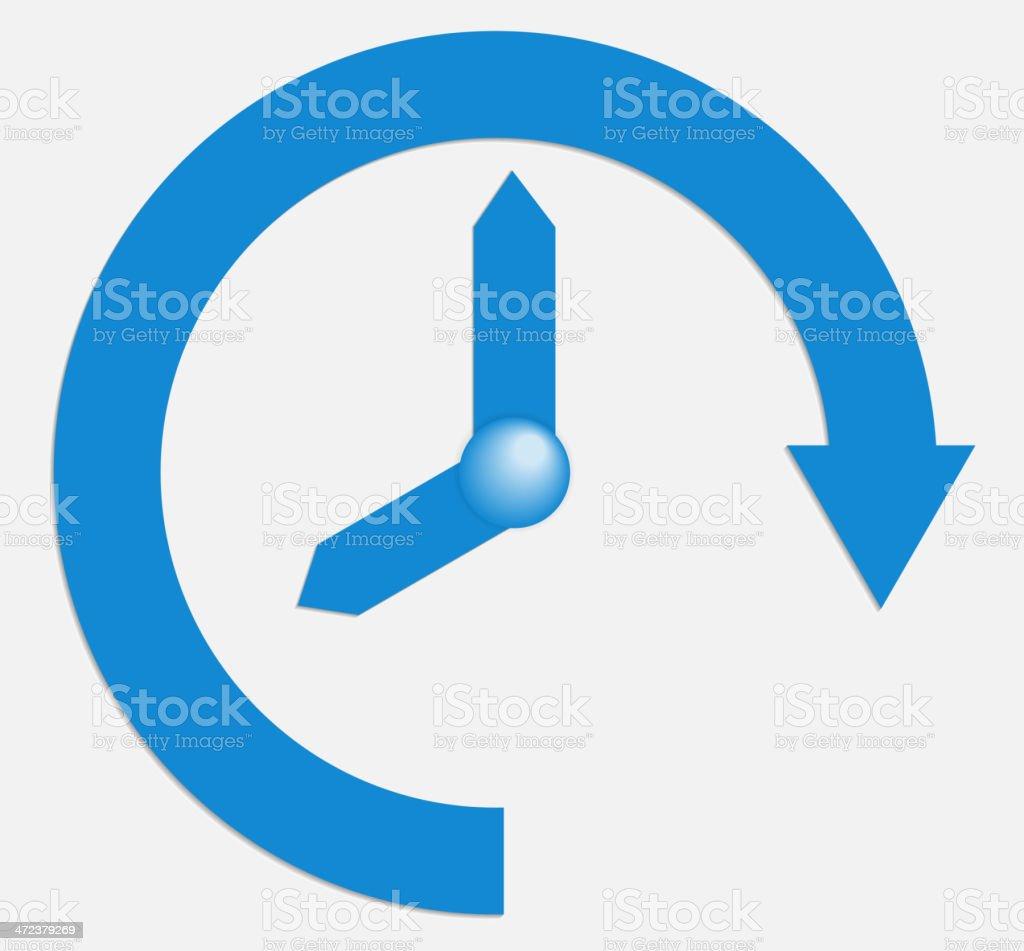 Time business. Vector illustration. vector art illustration