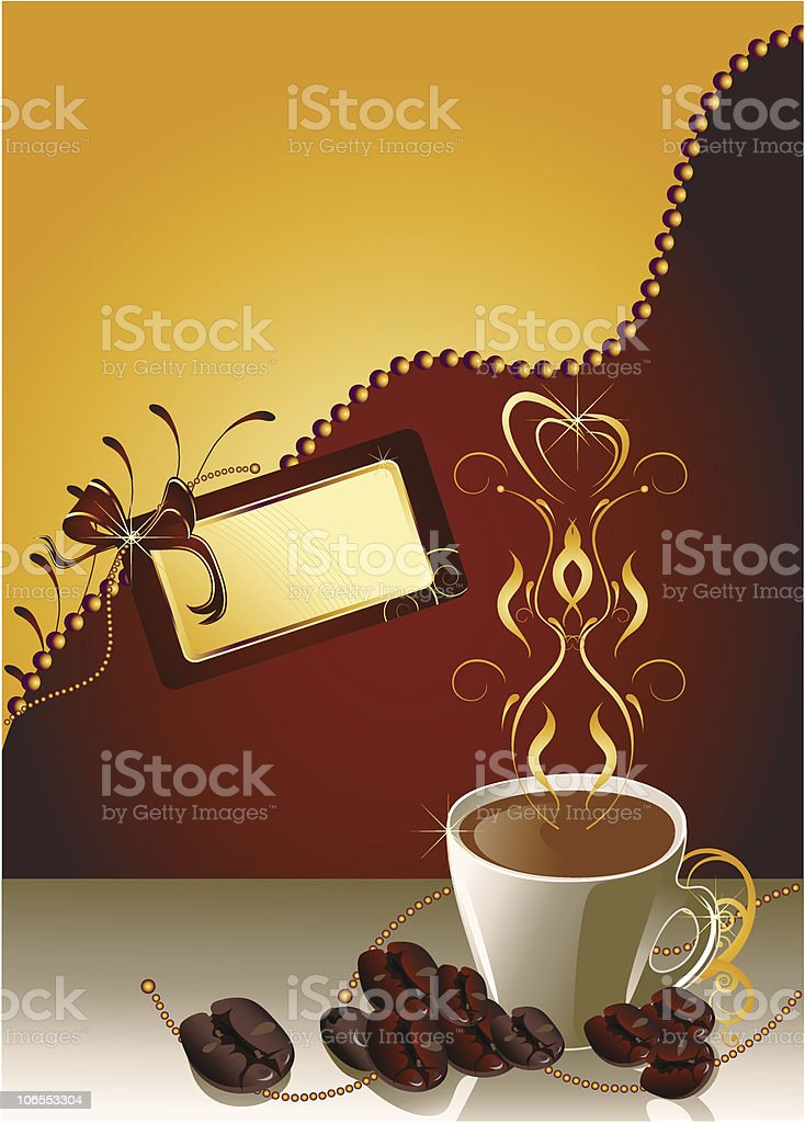 Time for coffee royalty-free stock vector art